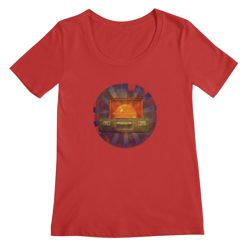Daylight - Inspired Design Women's Regular Scoop Neck by Home Store - Music Artist Anthony Snape
