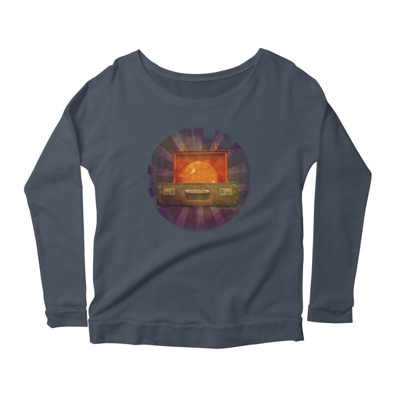 Daylight - Inspired Design Women's Scoop Neck Longsleeve T-Shirt by Home Store - Music Artist Anthony Snape