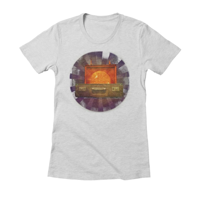 Daylight - Inspired Design Women's Fitted T-Shirt by Home Store - Music Artist Anthony Snape