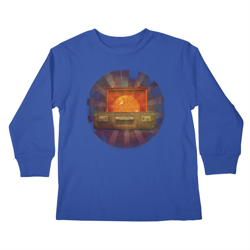 Daylight - Inspired Design Kids Longsleeve T-Shirt by Home Store - Music Artist Anthony Snape