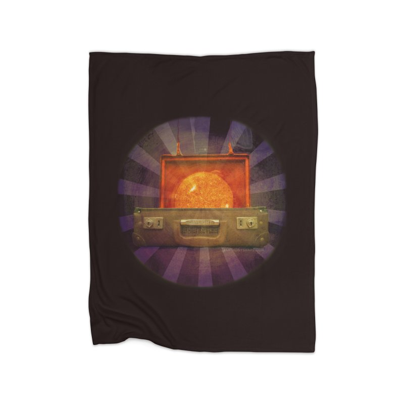 Daylight - Inspired Design Home Fleece Blanket Blanket by Home Store - Music Artist Anthony Snape