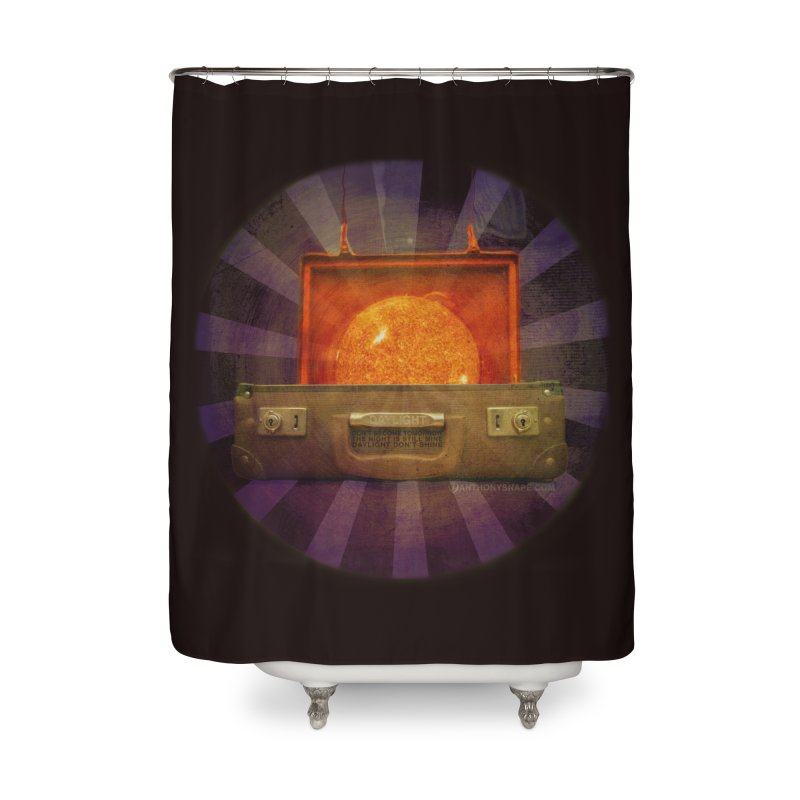 Daylight - Inspired Design Home Shower Curtain by Home Store - Music Artist Anthony Snape
