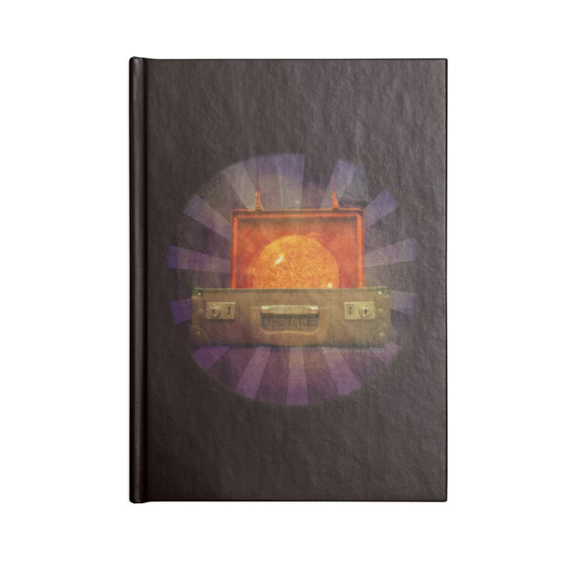 Daylight - Inspired Design Accessories Blank Journal Notebook by Home Store - Music Artist Anthony Snape