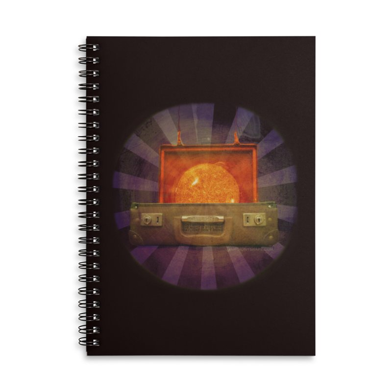Daylight - Inspired Design Accessories Lined Spiral Notebook by Home Store - Music Artist Anthony Snape