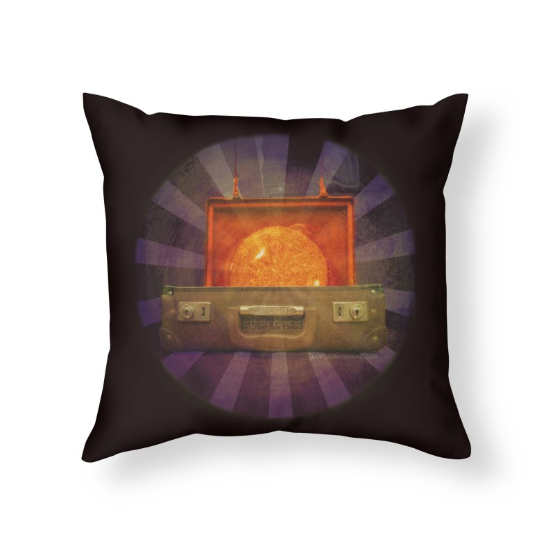 Daylight - Inspired Design Home Throw Pillow by Home Store - Music Artist Anthony Snape