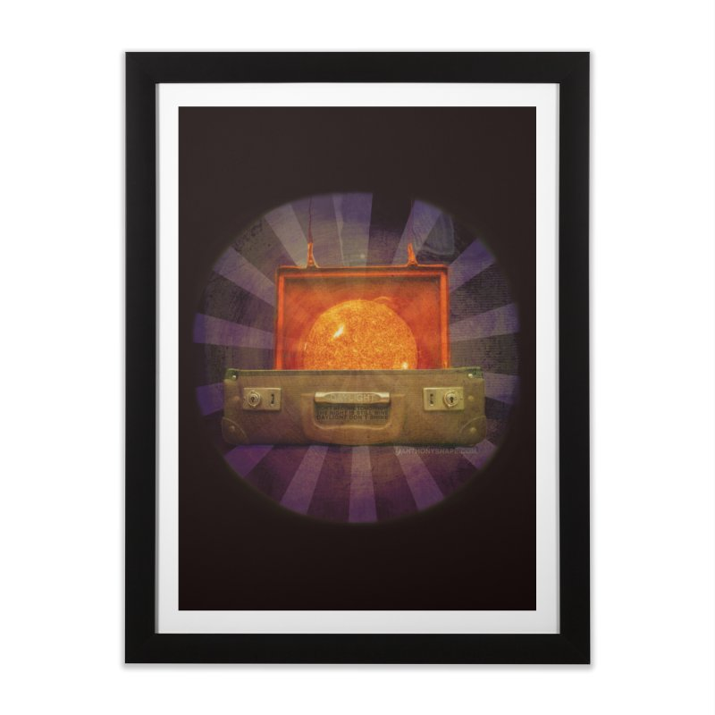 Daylight - Inspired Design Home Framed Fine Art Print by Home Store - Music Artist Anthony Snape