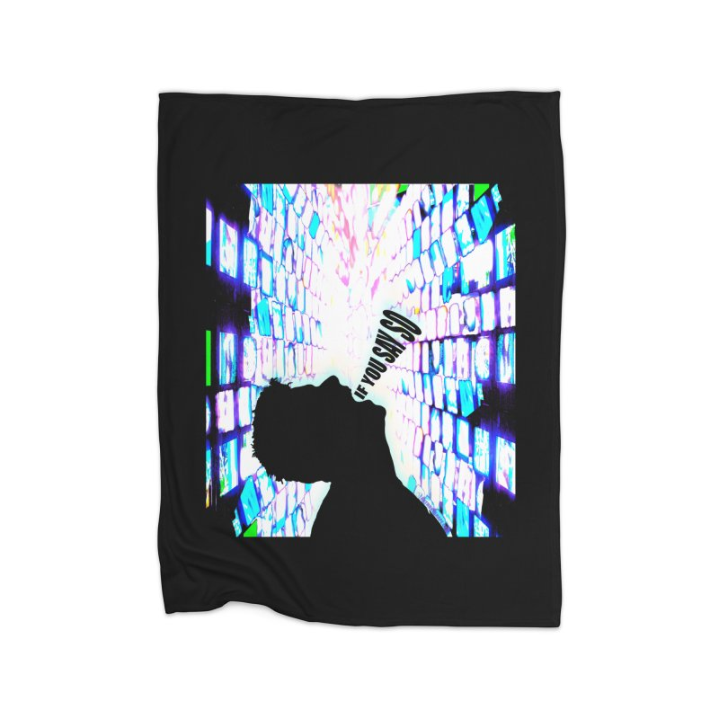 SAY SO - Inspired Design Home Fleece Blanket Blanket by Home Store - Music Artist Anthony Snape