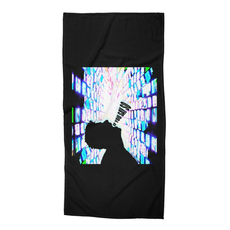 SAY SO - Inspired Design Accessories Beach Towel by Home Store - Music Artist Anthony Snape