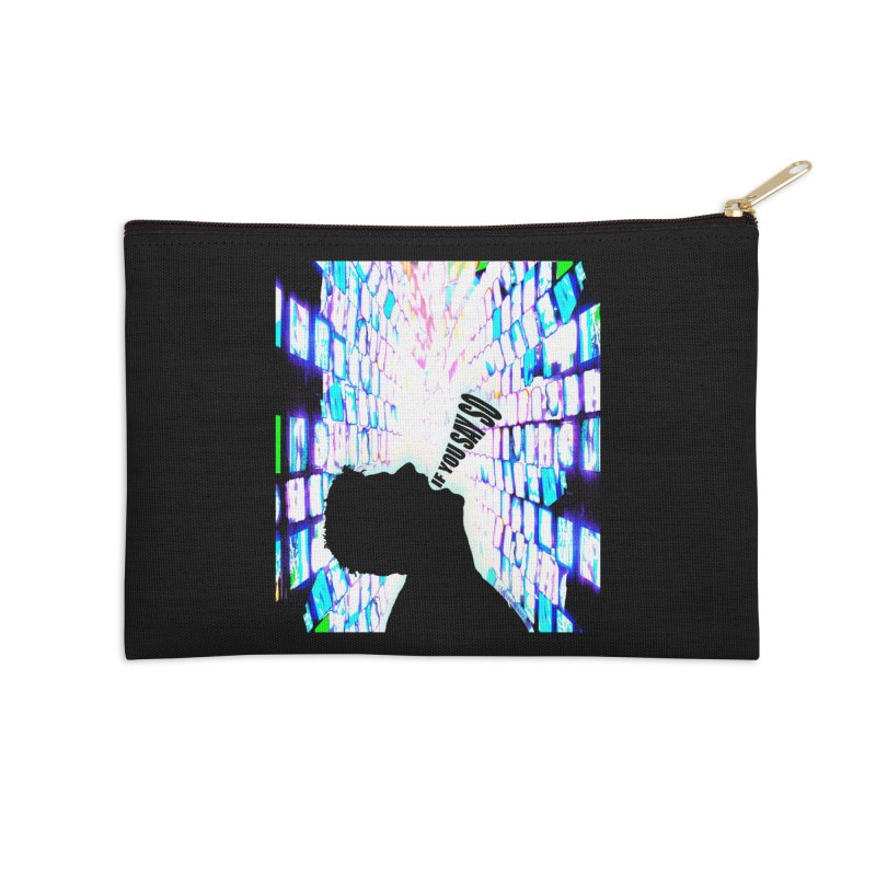 SAY SO - Inspired Design Accessories Zip Pouch by Home Store - Music Artist Anthony Snape