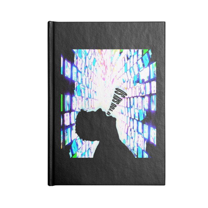 SAY SO - Inspired Design Accessories Blank Journal Notebook by Home Store - Music Artist Anthony Snape