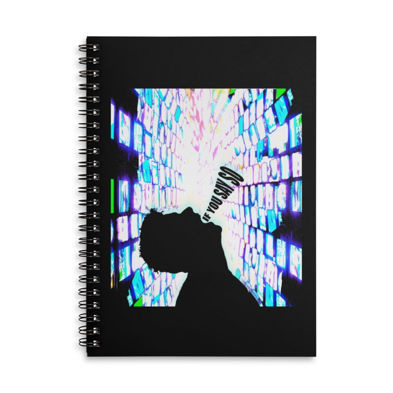 SAY SO - Inspired Design Accessories Lined Spiral Notebook by Home Store - Music Artist Anthony Snape