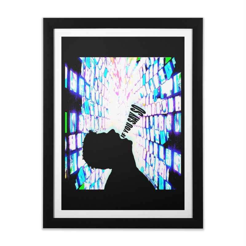 SAY SO - Inspired Design Home Framed Fine Art Print by Home Store - Music Artist Anthony Snape