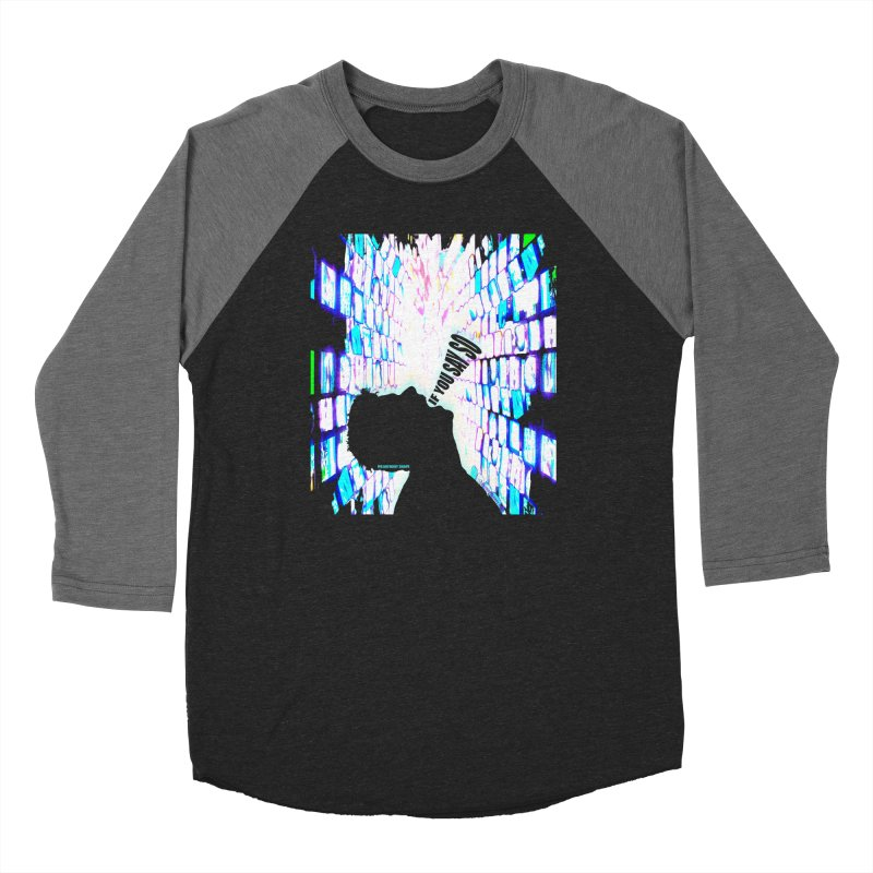 SAY SO - Inspired Design Women's Baseball Triblend Longsleeve T-Shirt by Home Store - Music Artist Anthony Snape