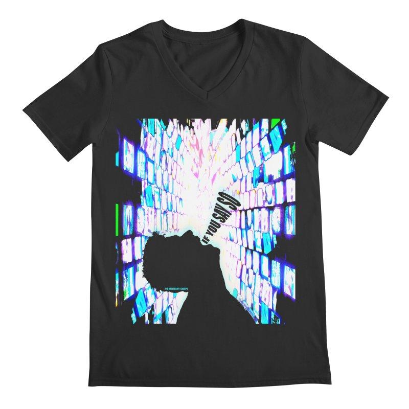 SAY SO - Inspired Design Men's Regular V-Neck by Home Store - Music Artist Anthony Snape