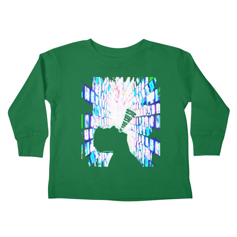 SAY SO - Inspired Design Kids Toddler Longsleeve T-Shirt by Home Store - Music Artist Anthony Snape