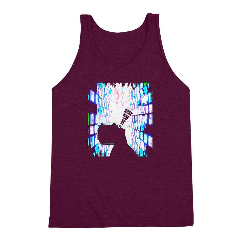SAY SO - Inspired Design Men's Triblend Tank by Home Store - Music Artist Anthony Snape