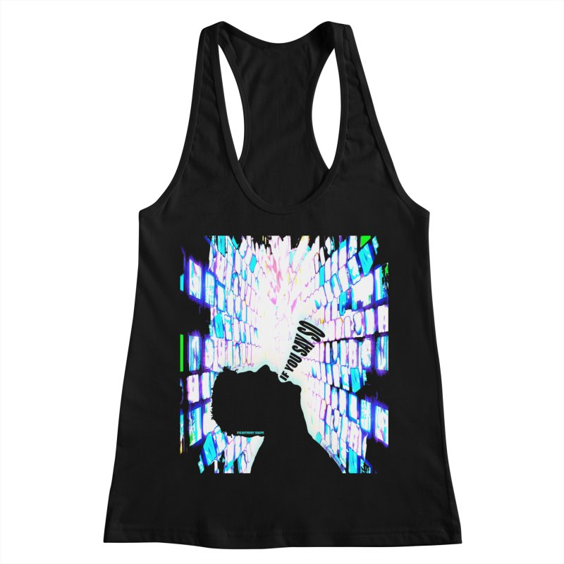 SAY SO - Inspired Design Women's Racerback Tank by Home Store - Music Artist Anthony Snape