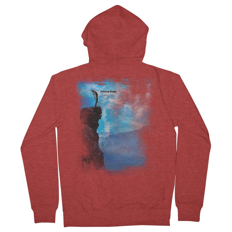 Disappearing Day - Song Inspired Art Women's French Terry Zip-Up Hoody by Home Store - Music Artist Anthony Snape