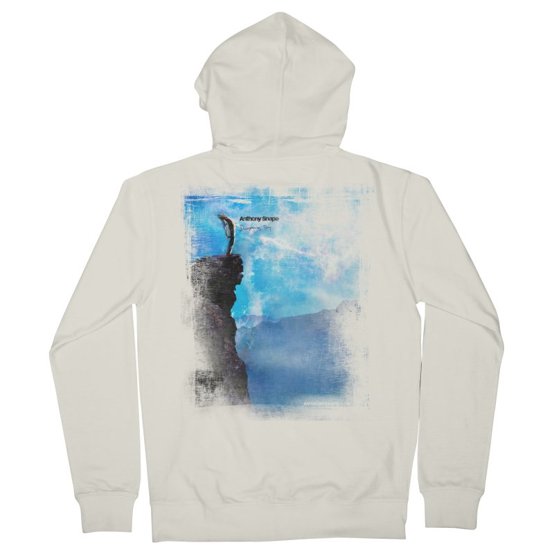 Disappearing Day - Song Inspired Art Men's French Terry Zip-Up Hoody by Home Store - Music Artist Anthony Snape