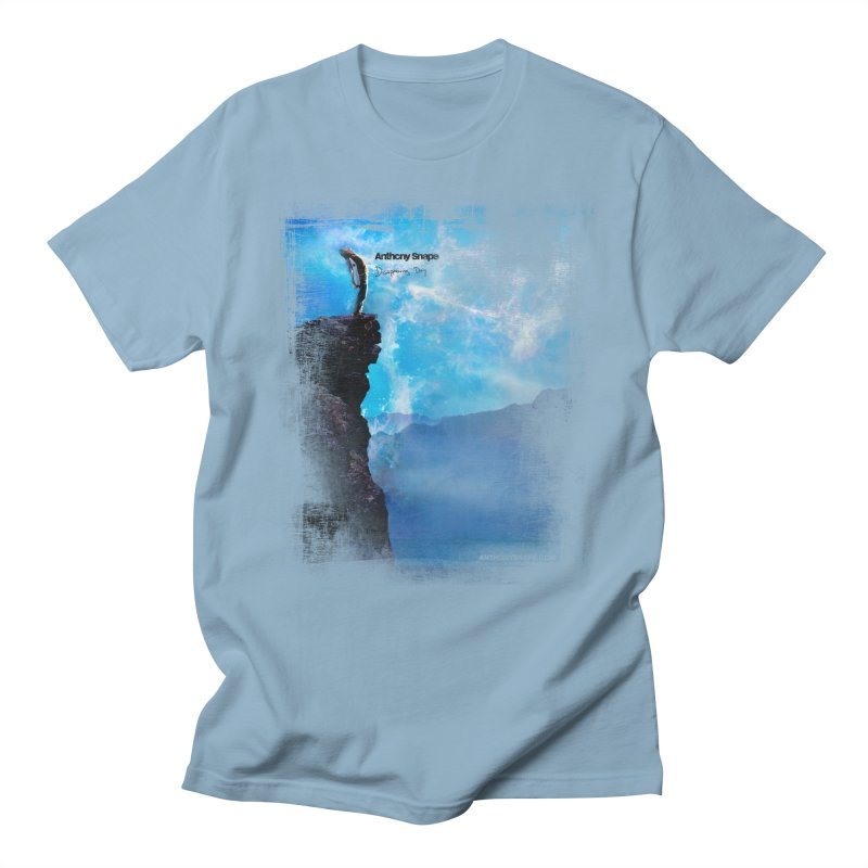 Disappearing Day - Song Inspired Art Men's T-Shirt by Music Artist Anthony Snape