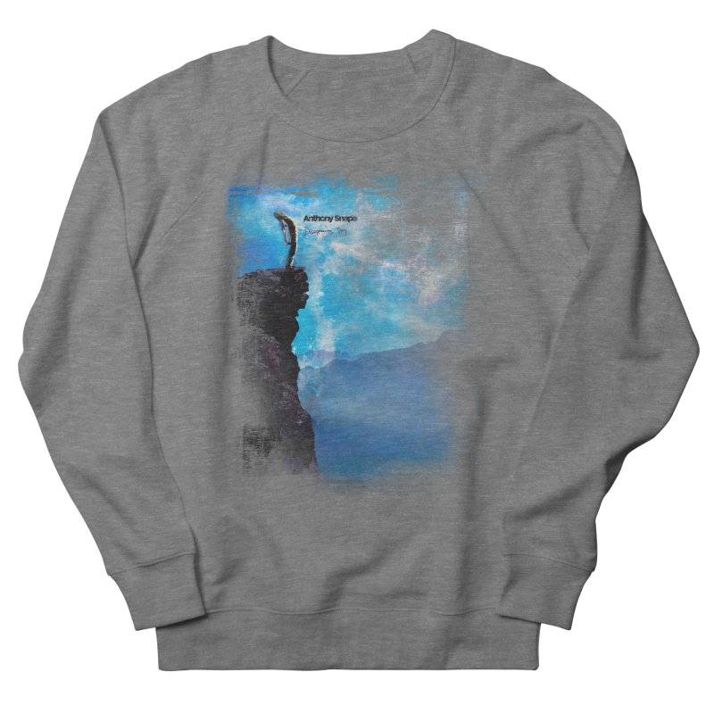 Disappearing Day - Song Inspired Art Women's French Terry Sweatshirt by Home Store - Music Artist Anthony Snape