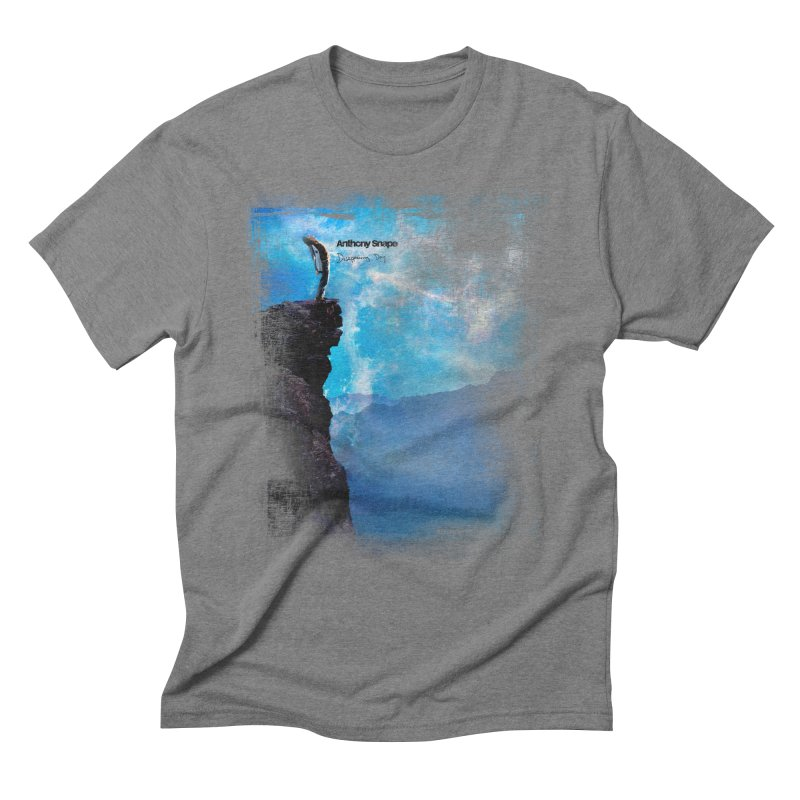 Disappearing Day - Song Inspired Art Men's Triblend T-Shirt by Home Store - Music Artist Anthony Snape