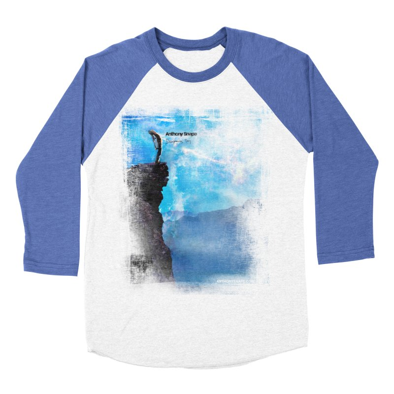 Disappearing Day - Song Inspired Art Women's Baseball Triblend Longsleeve T-Shirt by Home Store - Music Artist Anthony Snape