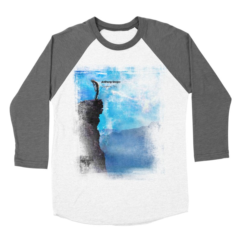 Disappearing Day - Song Inspired Art Men's Baseball Triblend Longsleeve T-Shirt by Home Store - Music Artist Anthony Snape