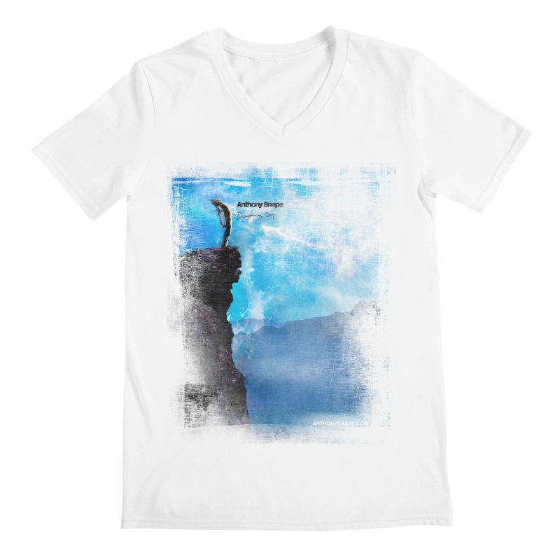 Disappearing Day - Song Inspired Art Men's Regular V-Neck by Home Store - Music Artist Anthony Snape