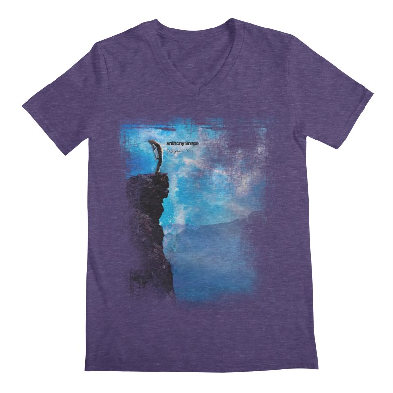 Disappearing Day - Song Inspired Art Men's V-Neck by Music Artist Anthony Snape