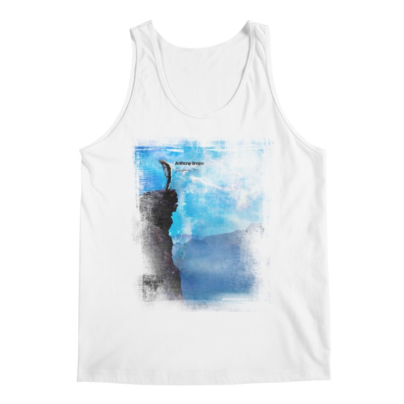 Disappearing Day - Song Inspired Art Men's Tank by Music Artist Anthony Snape