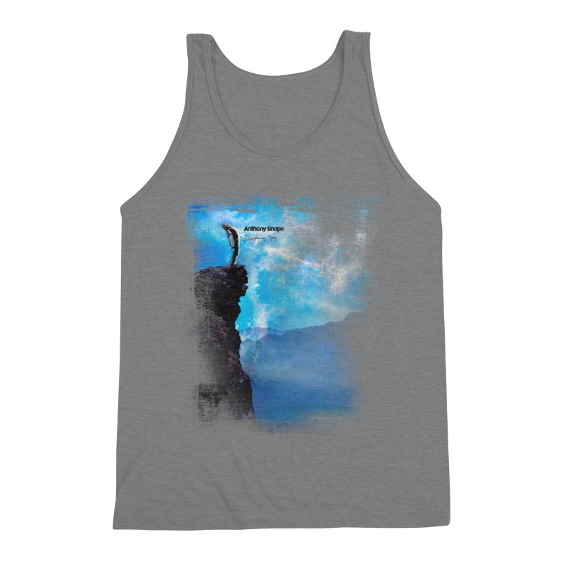 Disappearing Day - Song Inspired Art Men's Triblend Tank by Home Store - Music Artist Anthony Snape