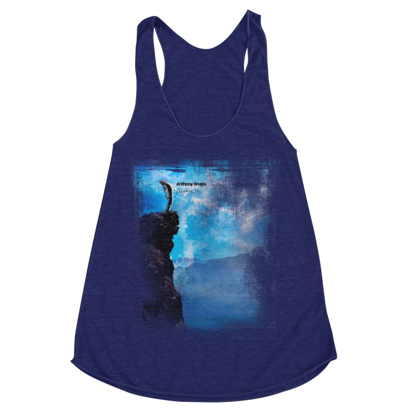 Disappearing Day - Song Inspired Art Women's Racerback Triblend Tank by Home Store - Music Artist Anthony Snape