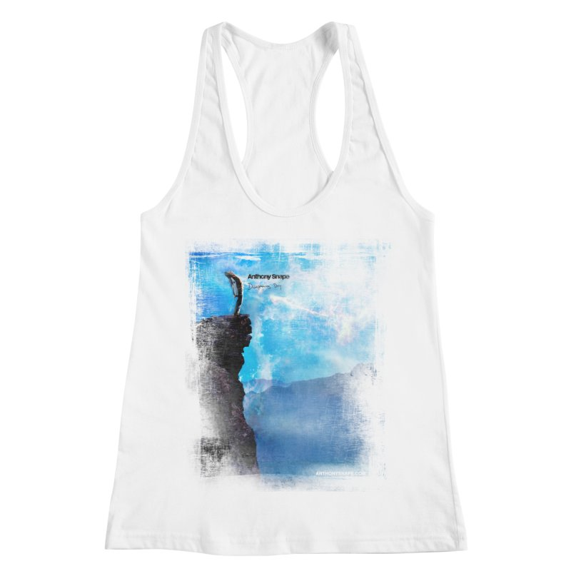 Disappearing Day - Song Inspired Art Women's Racerback Tank by Home Store - Music Artist Anthony Snape