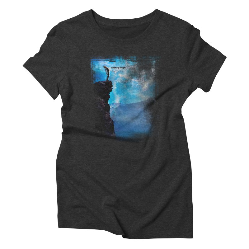Disappearing Day - Song Inspired Art Women's T-Shirt by Music Artist Anthony Snape
