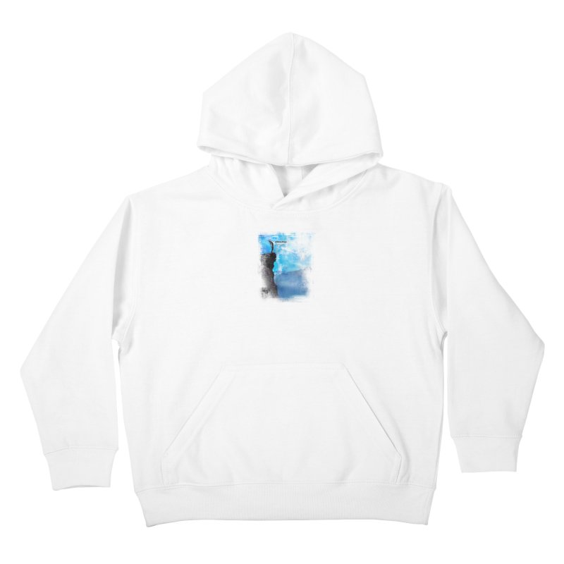Disappearing Day - Song Inspired Art Kids Pullover Hoody by Music Artist Anthony Snape