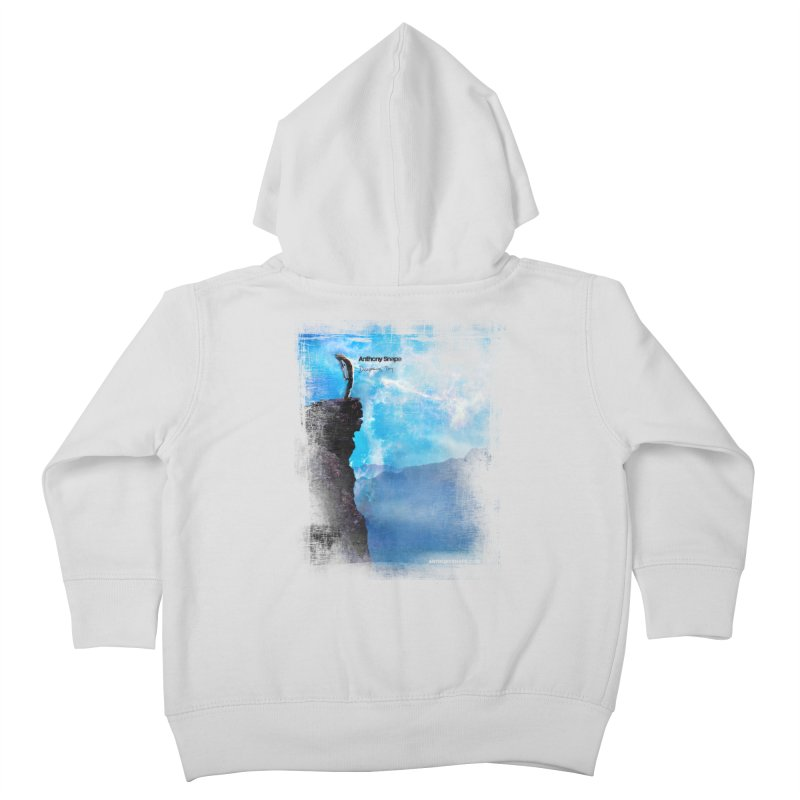 Disappearing Day - Song Inspired Art Kids Toddler Zip-Up Hoody by Music Artist Anthony Snape