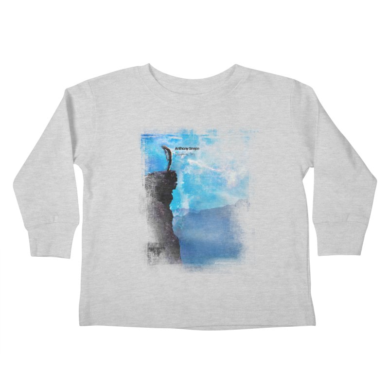 Disappearing Day - Song Inspired Art Kids Toddler Longsleeve T-Shirt by Music Artist Anthony Snape