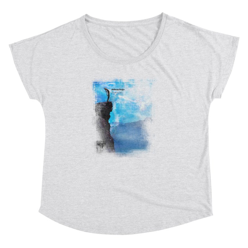 Disappearing Day - Song Inspired Art Women's Dolman Scoop Neck by Home Store - Music Artist Anthony Snape