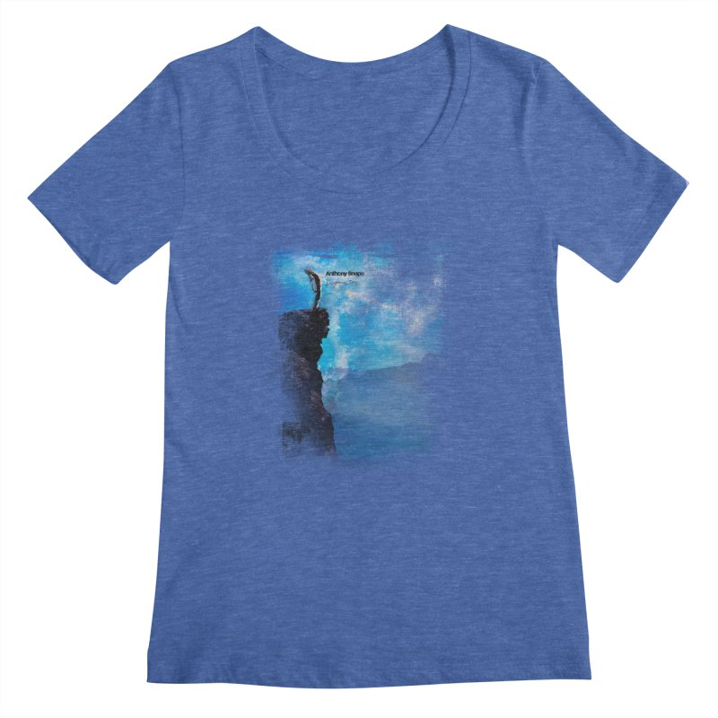 Disappearing Day - Song Inspired Art Women's Regular Scoop Neck by Home Store - Music Artist Anthony Snape