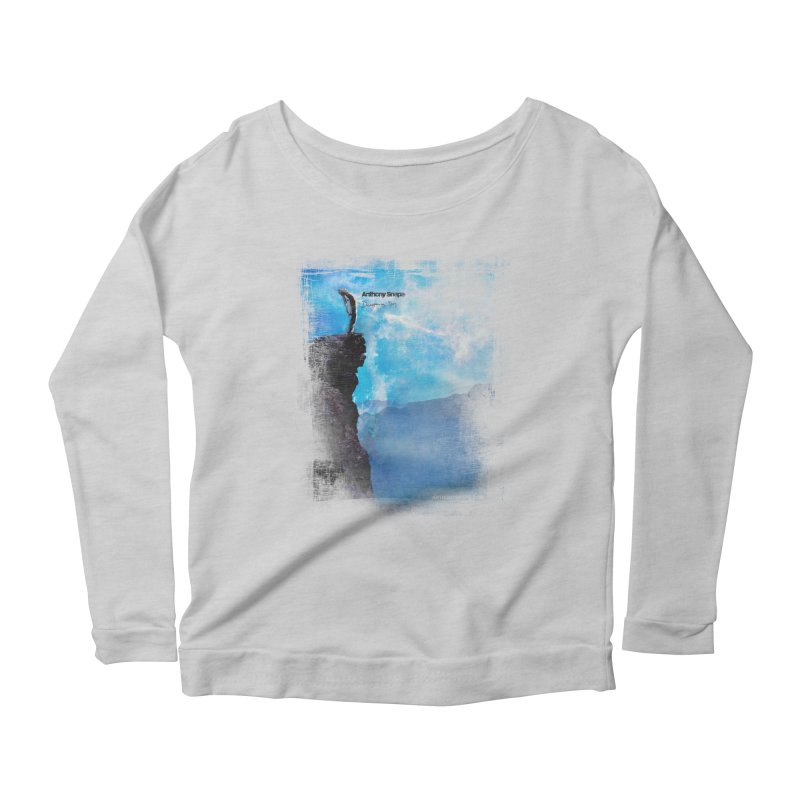 Disappearing Day - Song Inspired Art Women's Scoop Neck Longsleeve T-Shirt by Home Store - Music Artist Anthony Snape