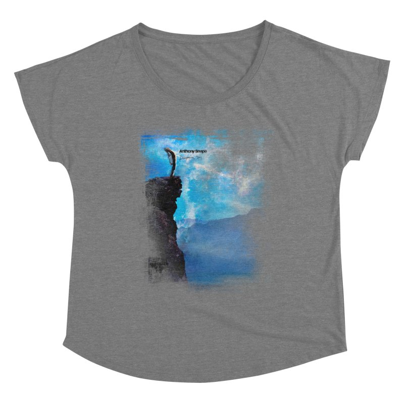 Disappearing Day - Song Inspired Art Women's Scoop Neck by Home Store - Music Artist Anthony Snape