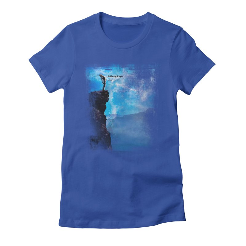 Disappearing Day - Song Inspired Art Women's Fitted T-Shirt by Home Store - Music Artist Anthony Snape