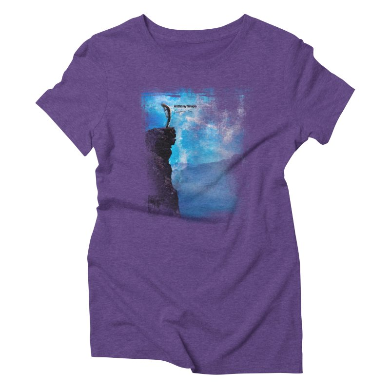 Disappearing Day - Song Inspired Art Women's Triblend T-Shirt by Home Store - Music Artist Anthony Snape