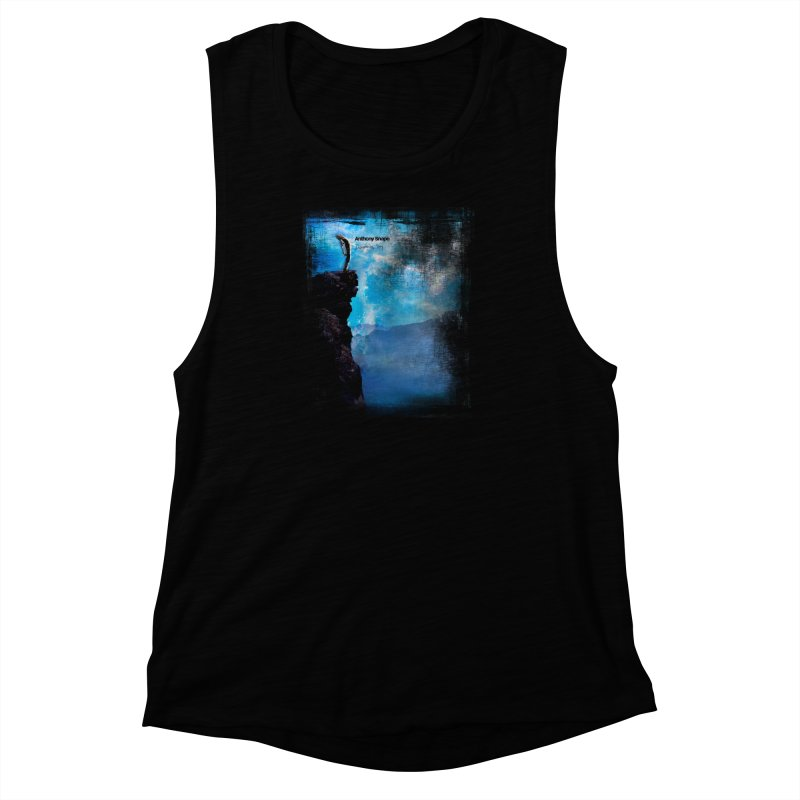 Disappearing Day - Song Inspired Art Women's Muscle Tank by Home Store - Music Artist Anthony Snape