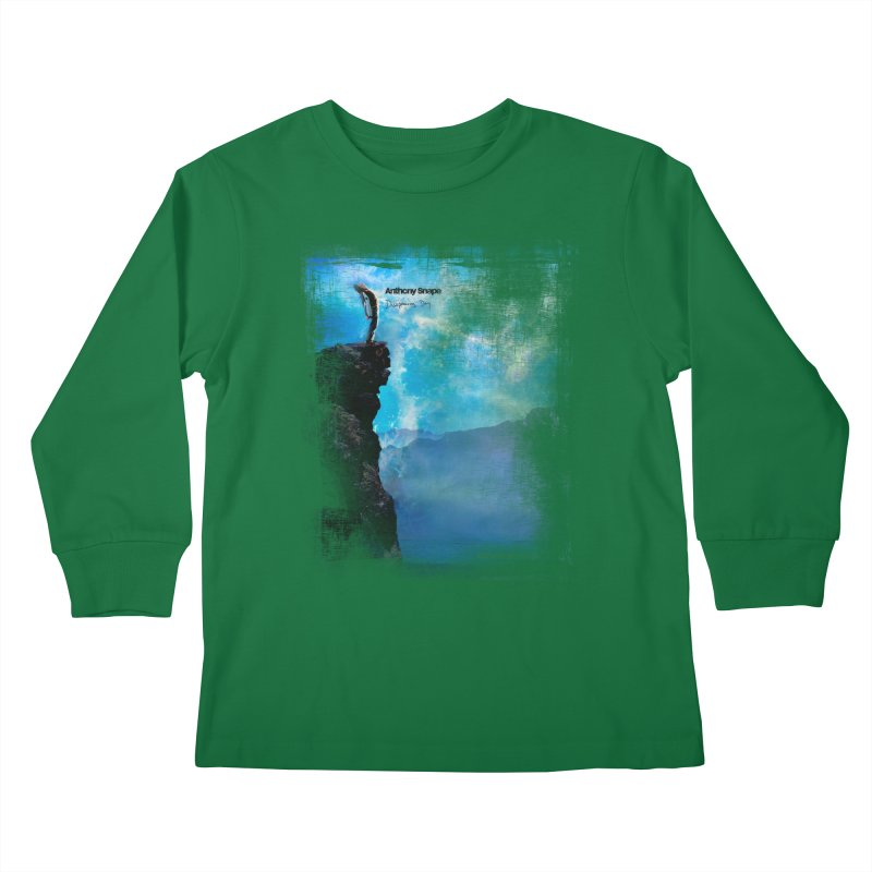 Disappearing Day - Song Inspired Art Kids Longsleeve T-Shirt by Music Artist Anthony Snape