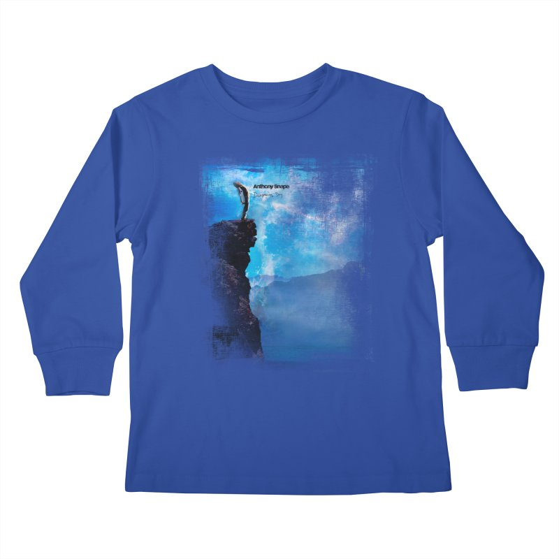Disappearing Day - Song Inspired Art Kids Longsleeve T-Shirt by Home Store - Music Artist Anthony Snape