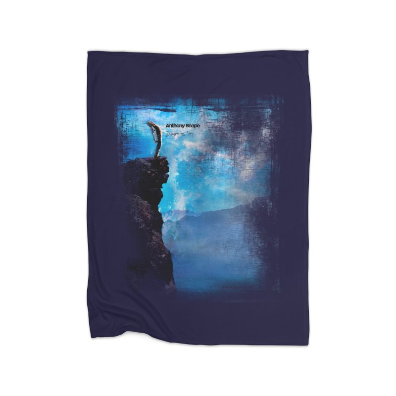 Disappearing Day - Song Inspired Art Home Fleece Blanket Blanket by Home Store - Music Artist Anthony Snape
