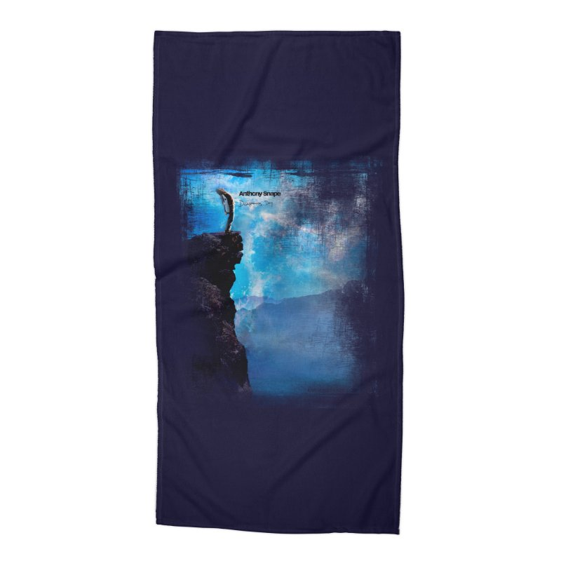 Disappearing Day - Song Inspired Art Accessories Beach Towel by Home Store - Music Artist Anthony Snape