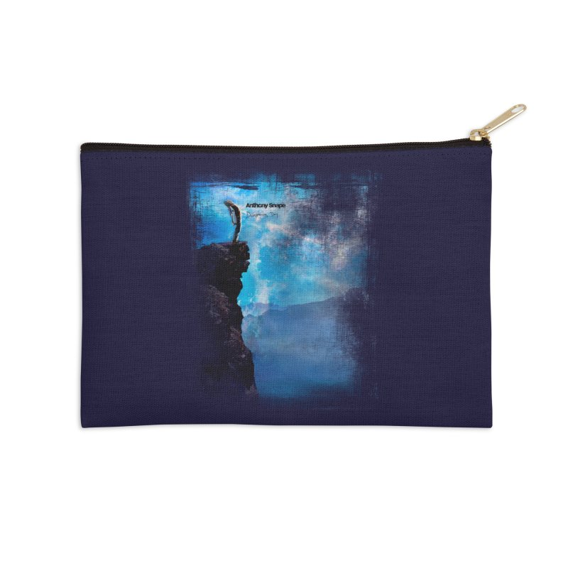 Disappearing Day - Song Inspired Art Accessories Zip Pouch by Music Artist Anthony Snape
